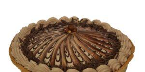 Chocolate Hazelnut Caramel Torte